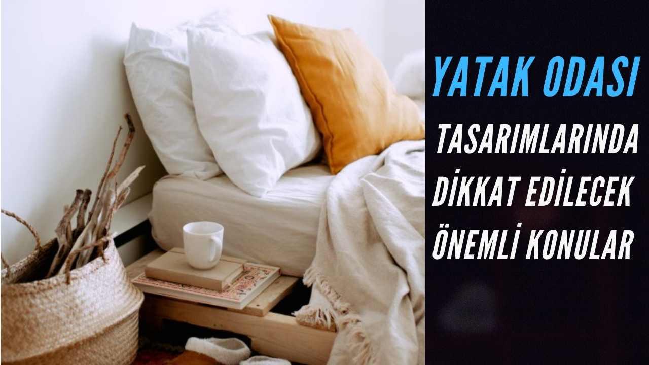 yatak odasi tasarimi